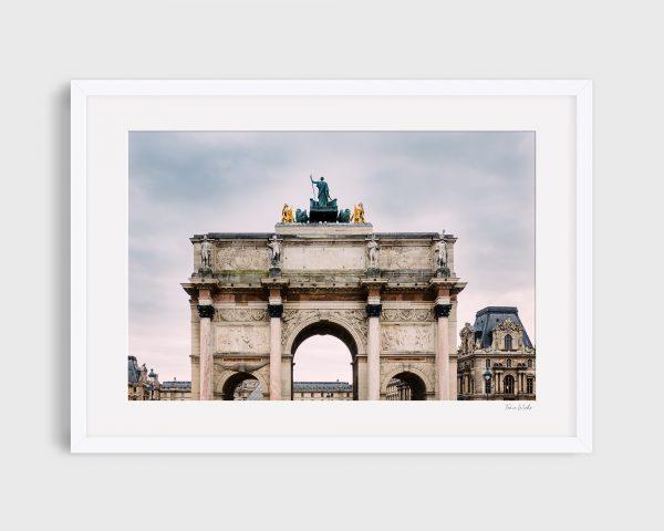 photograph Arc Du Carrousel 2 - Golden Paris