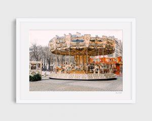 photograph Paris merry go round