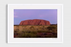 Photograph of Uluru 1 - Pale Ascent