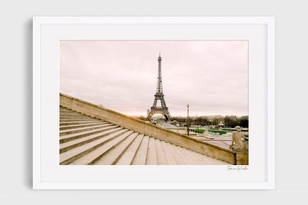 photograph Eiffel Tower 1 - Escaliers
