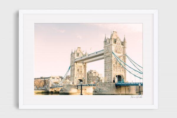 photograph of London Bridge - Tower Bridge