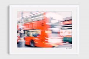 photograph of London Bus - Rush Hour