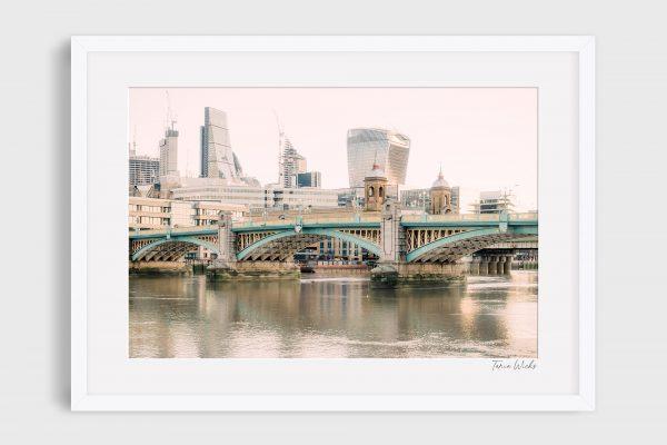 photograph Southwark Bridge - River Thames