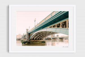 photograph Southwark Bridge - Blue Arch