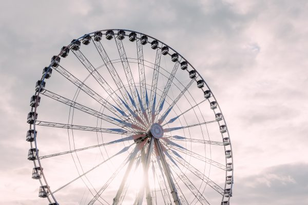 photograph roue de paris - parisian sky
