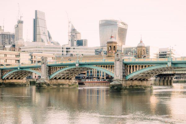 photograph Southwark Bridge- River Thames