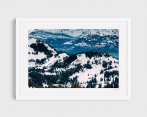 photograph of Switzerland - Swiss Alps - Rigi Mountain