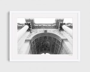 photograph Arc Du Carrousel 3 - Regal B&W