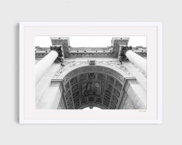 photograph Arc Du Carrousel 3 - Regal B&W