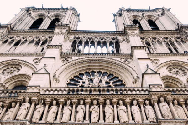 photograph of Notre Dame - Cathedral Towers
