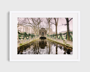 photograph of Médicis fountain paris