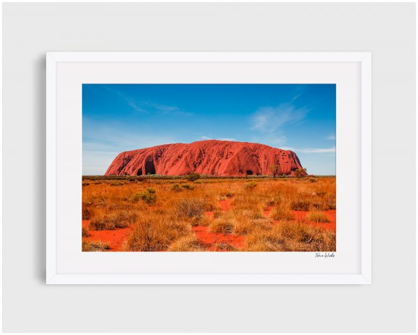 Photograph of Uluru 4 - Red Rock