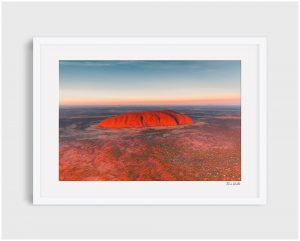 Photograph of Uluru 6 - Desert Red