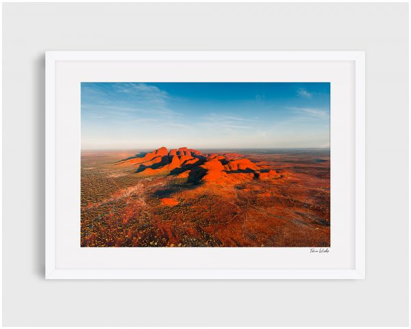 Photograph of Uluru 7 - Dancing Shadows