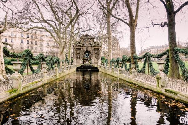 jadin du Luxembourg Médicis fountain paris