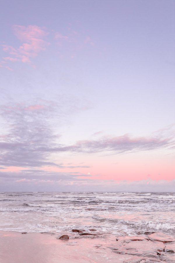 Photograph of Bulcock Beach | Peachy Moon