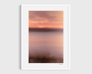 Abstract photo of Hamilton Island at sunrise